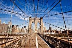 New York City Brooklyn Bridge Royalty Free Stock Photography