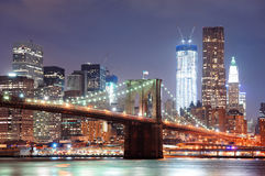 New York City Brooklyn Bridge Royalty Free Stock Photos