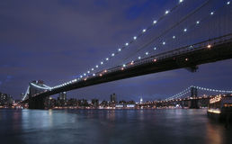 New York City- Brooklyn Bridge Royalty Free Stock Photos