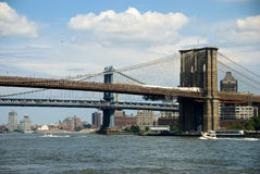 New York City - Brooklyn Bridge Stock Photos