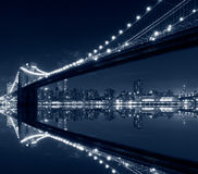 New York City, Brooklyn Bridge Royalty Free Stock Photo