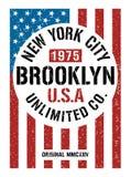 New York City Brooklyn, image de vecteur Photos stock