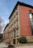 New York City brownstones at historic Brooklyn Heights neighborhood. New York City brownstones at historic Brooklyn Heights  neighborhood Royalty Free Stock Photos