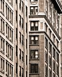 New York City building facades Royalty Free Stock Images