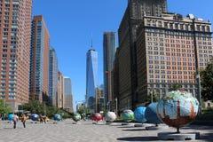 New York City of building stock photo