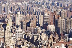 New York city buildings stock images