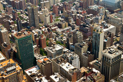 New York City Buildings Background Stock Photography