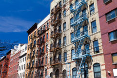 New York City Buildings Stock Image