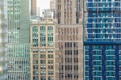 New York City buildings. Details of New York City buildings background royalty free stock images
