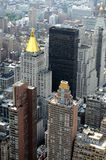 New York city buildings. Buildings in new York city from empire state building stock photos