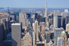 New York City Buildings on Manhattan Royalty Free Stock Photos