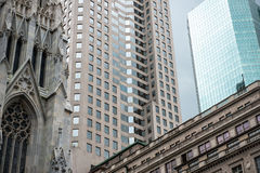 New York City buildings and skyscrapers Royalty Free Stock Photography