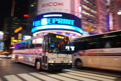 New York City bus Stock Image