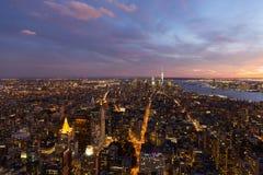 New York City céntrico Fotografía de archivo libre de regalías