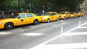 New York City Cabs Stock Image
