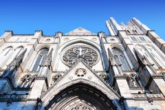 New York City Cathedral Royalty Free Stock Photography