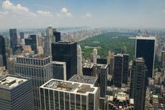 New York CIty and Central Park royalty free stock photography