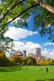 New York City Central Park Lizenzfreies Stockfoto
