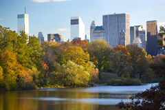 New York City Central Park Royalty Free Stock Photography