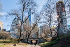 New York City, Central Park Fotos de Stock Royalty Free