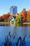New York City Central Park Autumn Stock Image