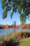 New York City Central Park Autumn Stock Photo