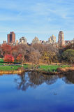 New York City Central Park in Autumn Royalty Free Stock Photography