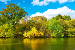 New York City Central Park in autumn Royalty Free Stock Image