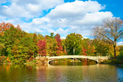 New York City Central Park in autumn Stock Images