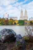 New York City Central Park Belvedere Castle Royalty Free Stock Photo