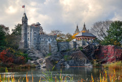 New York City Central Park Belvedere Castle Royalty Free Stock Photography