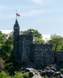 New York City Central Park Belvedere Castle Stock Image