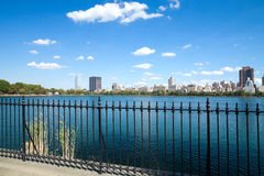 New York City, Central Park, Jacqueline Kennedy Onassis Reservoi Stock Photo