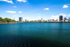New York City, Central Park, Jacqueline Kennedy Onassis Reservoi Royalty Free Stock Image
