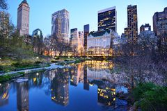 Free New York City Central Park Lake Royalty Free Stock Images - 32301279