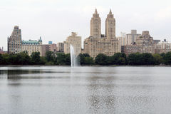 New York City Central Park Lake Royalty Free Stock Images