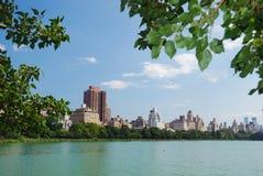 New York City Central Park Manhattan skyline Stock Images