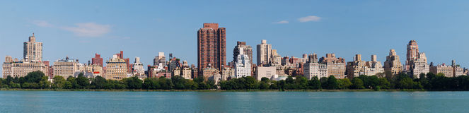 New York City Central Park panorama Stock Photos