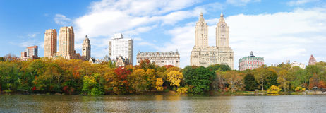 New York City Central Park panorama Royalty Free Stock Photo
