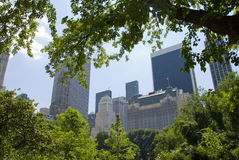New York City, Central Park Stock Photo