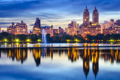 New York City Central Park Skyline Royalty Free Stock Image