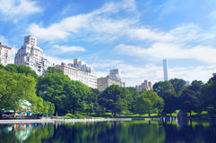 New York City Central Park in summer Royalty Free Stock Photos