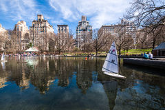New York City, Central Park stock image