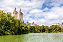 New York City Central Park west side view Stock Image