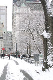 New York City Central Park in winter Stock Image