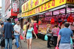 New York City Chinatown Royalty Free Stock Image