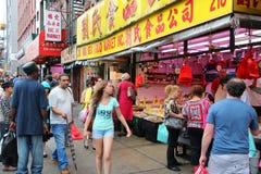 New York City Chinatown Royalty Free Stock Image