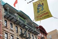 New York City Chinatown Street Chinese Community Manhattan Trendy Urban Life stock photography