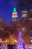 New York City Christmas Royalty Free Stock Photography