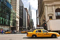 New York City Chrysler Building Stock Photography